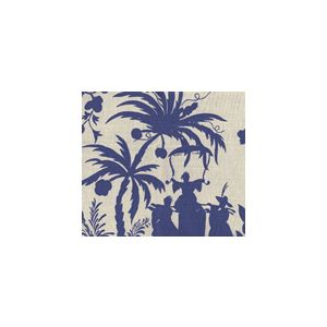 6600-13 LYFORD PAGODA PETITE New Navy on White Quadrille Fabric