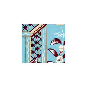 6010-03 LYFORD PRINT Lyford Blue on Tint Quadrille Fabric