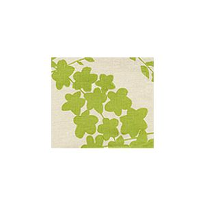 4100-05 LYSETTE Chartreuse on Tan Quadrille Fabric