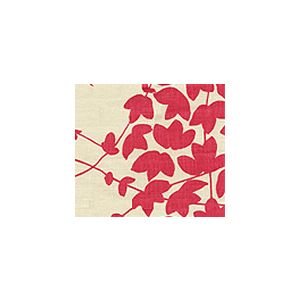 4100-11 LYSETTE Magenta on Tan Quadrille Fabric