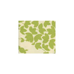 4100-03 LYSETTE Palm Green on Tan Quadrille Fabric