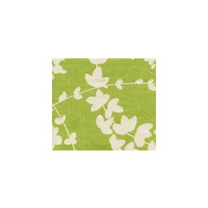 4101-05 LYSETTE REVERSE Chartreuse on Tan Quadrille Fabric