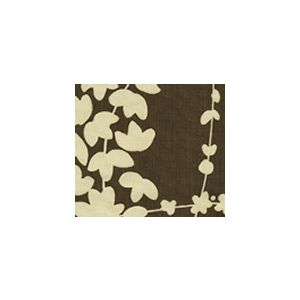 4101-01 LYSETTE REVERSE Brown on Tan Quadrille Fabric