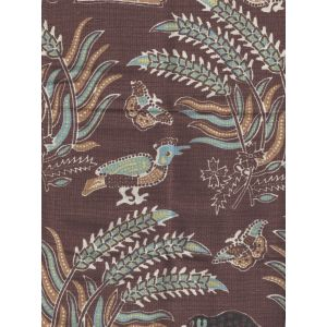 2320-10 MALAY BATIK Brown Quadrille Fabric