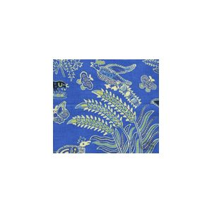 2320-04SUN MALAY BATIK French Blue Quadrille Fabric