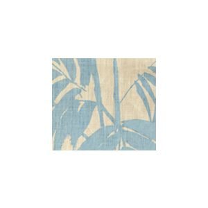 4020-04 MARTINIQUE New Blue on Tan Quadrille Fabric