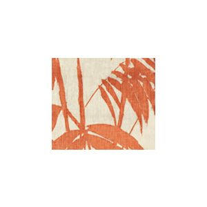 4020-02 MARTINIQUE New Shrimp on Tan Quadrille Fabric