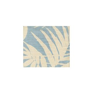 4025-04 MARTINIQUE REVERSE New Blue on Tan Custom Only Quadrille Fabric
