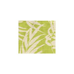 4025-01 MARTINIQUE REVERSE Palm Green on Tan Custom Only Quadrille Fabric