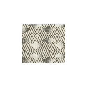 2510L-07 MAZE Brown on Tint Quadrille Fabric