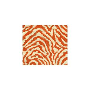 AC809-14 MELOIRE REVERSE Terracotta on Tint Quadrille Fabric