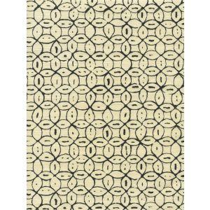 6450-10 MELONG BATIK Black on Tint Quadrille Fabric