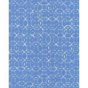 6455-01 MELONG BATIK REVERSE French Blue on Tint Quadrille Fabric