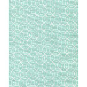 6455-13 MELONG BATIK REVERSE Light Turquoise on White Quadrille Fabric