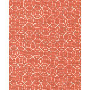 6455-15 MELONG BATIK REVERSE Orange on Tint Quadrille Fabric