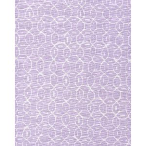 6455-12 MELONG BATIK REVERSE Soft Lilac on White Quadrille Fabric
