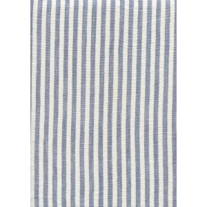 008381T MINI STRIPE Dark Blue Quadrille Fabric