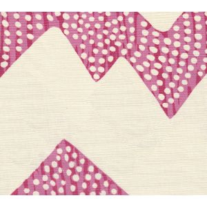 AC720-02 MOJAVE ZIG ZAG Pinks on Tint Quadrille Fabric