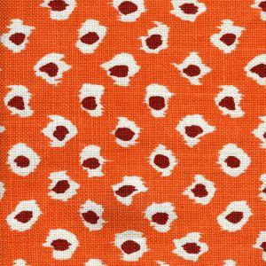 302278P MOROC Oranges on Oyster Quadrille Fabric