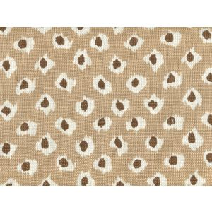 302270P MOROC Pumice Brown on Oyster Quadrille Fabric