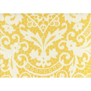 AC870-04 NEW BROMPTON Yellow on Tint Quadrille Fabric
