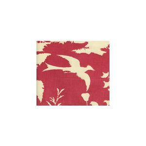 301982F PARADISE BACKGROUND Raspberry on Tint Quadrille Fabric