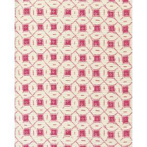 8300-04 PEACOCK BACKGROUND BATIK Pink on Tint Quadrille Fabric
