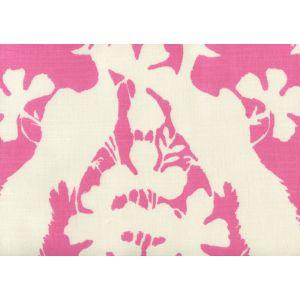 8330-04 PEACOCK BLOTCH Pink on Tint Quadrille Fabric