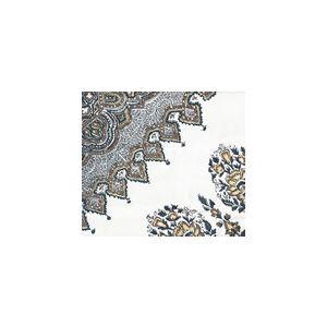 HC1490U-04 PERSEPOLIS Brown Navy Quadrille Fabric