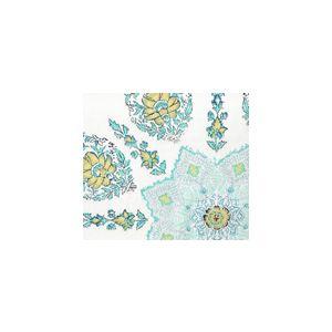 HC1490U-01WSUN PERSEPOLIS Celeste Blue Quadrille Fabric