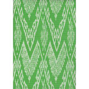 7990-08 RAFFLES REVERSE Jungle Green on Tint Quadrille Fabric