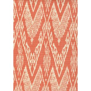 7990-07 RAFFLES REVERSE New Shrimp on Tint Quadrille Fabric