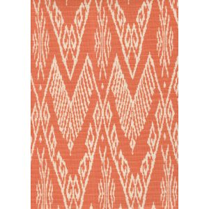 7990-05 RAFFLES REVERSE Peach on Tint Quadrille Fabric