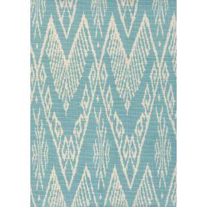 7990-03 RAFFLES REVERSE Sea Foam on Tint Quadrille Fabric