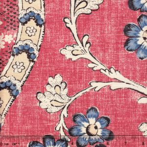 2438-03 RIVIERE ENCHANTEE Corail Quadrille Fabric