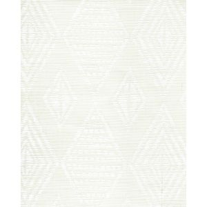 AC850-00 SAFARI EMBROIDERY White on Tint Quadrille Fabric