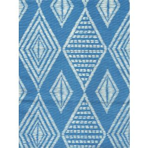 AC855-05 SAFARI French Blue on Tint Quadrille Fabric