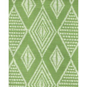 AC855-06 SAFARI Jungle Green on Tint Quadrille Fabric