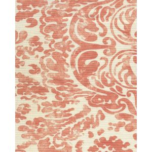 2330-07 SAN MARCO Terracotta on Tint Quadrille Fabric