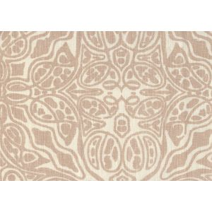 302255F SAN MICHELE Pumice on Beige Quadrille Fabric