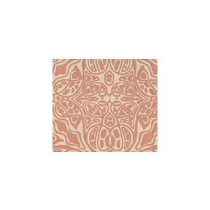 302258F-SUN SAN MICHELE Terracotta Quadrille Fabric