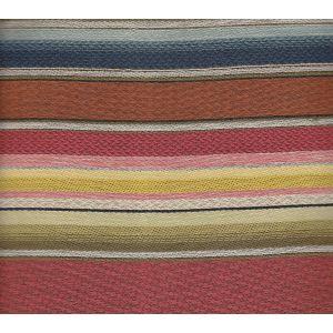 009370T SERAPE MEXICANO Multi Reds with Blue Quadrille Fabric