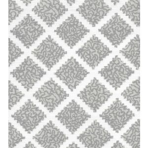 JF01000-01 SHANGHAI Multi Greys on White Quadrille Fabric