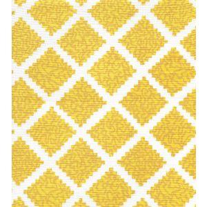 JF01000-09 SHANGHAI Sunflower on White Quadrille Fabric