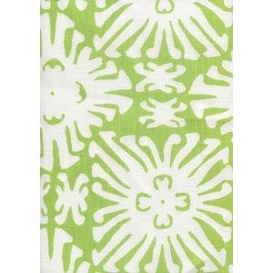 2485-02 SIGOURNEY REVERSE SMALL SCALE Jungle Green on White Quadrille Fabric