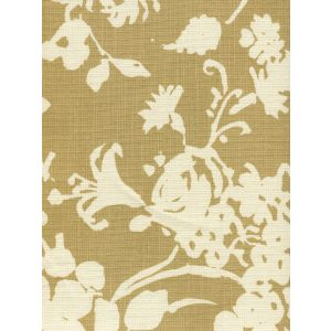 8130-01 SILHOUETTE REVERSE Camel on Tint Custom Only Quadrille Fabric