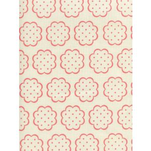 JF01060-03 SYBIL Melon on Tint Quadrille Fabric