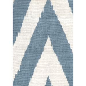 302505F TASHKENT Windsor Blue on Oyster Quadrille Fabric