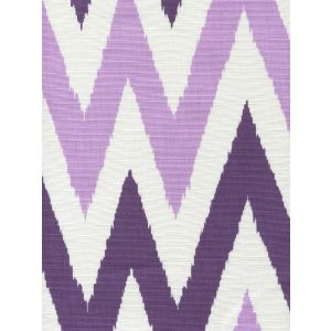 306025F TASHKENT II SMALL SCALE Purple Lilac on White Quadrille Fabric