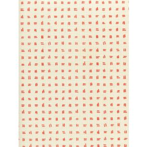 AC880-06 TATE Orange on Tint Quadrille Fabric